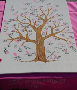 2018 Making Strides Survivor Tree