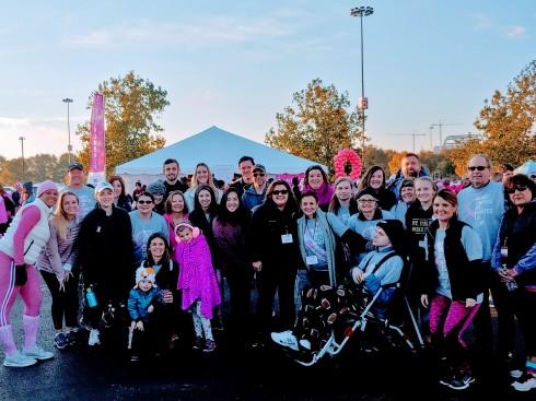Making Strides 18 Group Photo